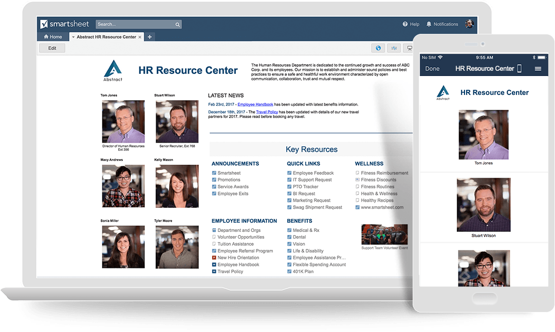 HR Resource Center Portal